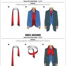 11 façons de faire un noeud d'écharpe