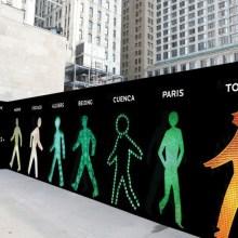 The Walking Men - Les petits bonhommes verts à travers le monde