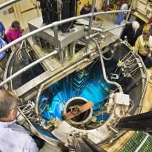 Un pic de production d'un réacteur nucléaire