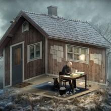 Les images transformées en illusions d'Erik Johansson