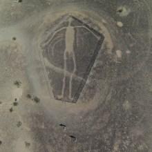 Des géoglyphes humanoïdes aux USA