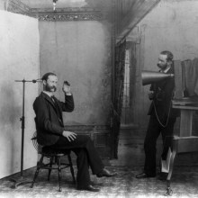 Des photographes à l'ancienne
