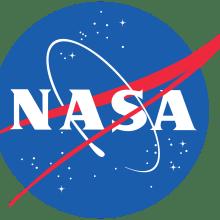 Le boomerang rouge du logo de la Nasa