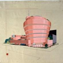 Le Guggenheim de New York aurait pu être rose (entre autres)