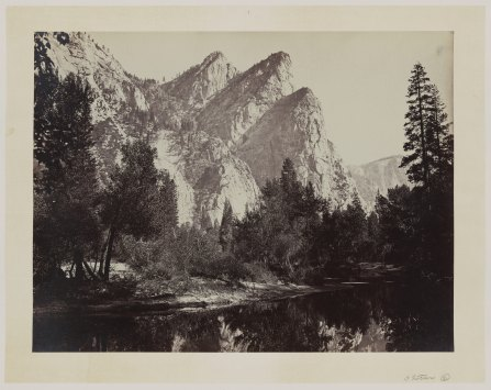 06-Carleton-Watkins-Three-Brothers-yose-1860