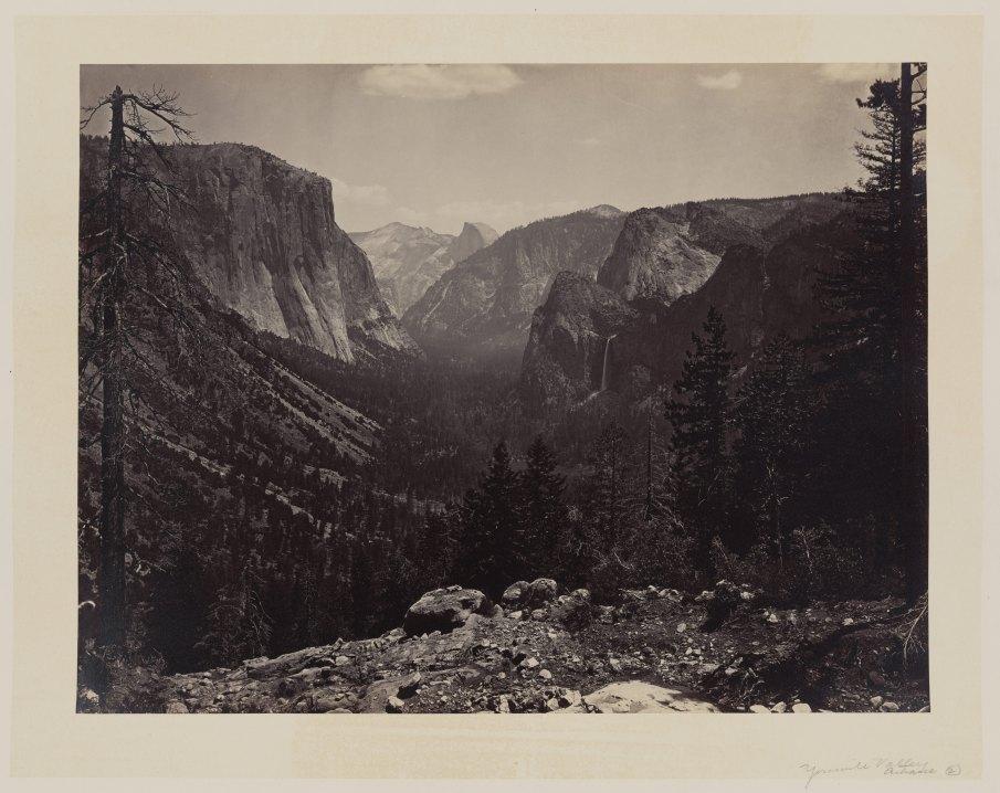 08-Carleton-Watkins-Entrance-to-Yosemite-Valley-Calif-1860