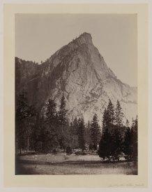 09-Carleton-Watkins-Front-view-Three-Brothers-Yosemite