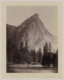 09-Carleton-Watkins-Front-view-Three-Brothers-Yosemite