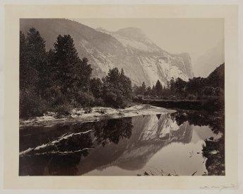 13-Carleton-Watkins-North-Dome-Yosemite-1860