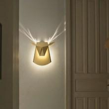 Des appliques qui font des animaux avec la lumière