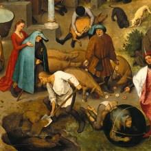 La peinture flamande de 1559 qui illustre 120 proverbes