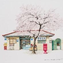 Elle peint les boutiques de proximité coréennes bientôt disparues