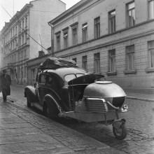 [Mystère #257] Une voiture équipée d'un gazogène