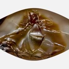 Une toute petite agate finement sculptée il y a 3500 ans