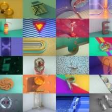 L'alphabet en mouvement dans ce court métrage d'animation