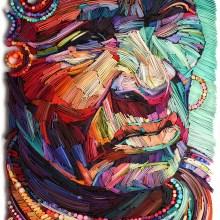 la beauté de la vieillesse en portraits de papiers