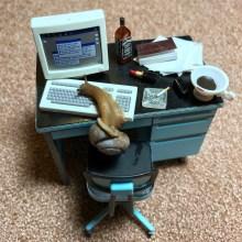 Des dioramas pour escargots dans un clip musical