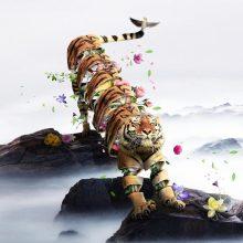 La faune sauvage en tranches surréalistes par Ade Maolana