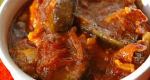 sauce d'aubergine