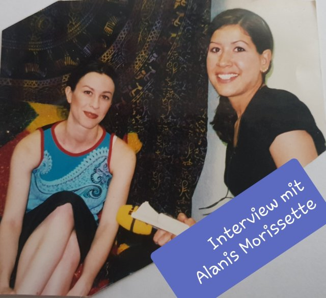 Aus meiner Zeit als Radiomoderatorin, Interview mit Sängerin Alanis Morissette