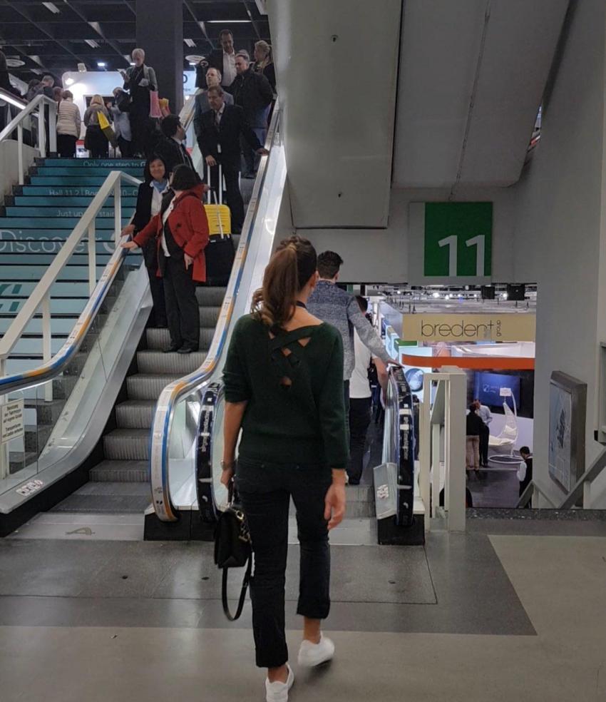 Halle 11 Auf dem Weg an die Dentalweltleitmesse IDS Köln