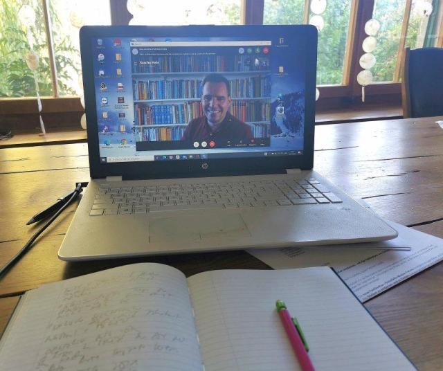 skype Interview mit Zahntechniker Sascha Hein