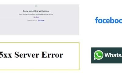 Facebook, Instagram e Whatsapp server down| 04 Ottobre 2021