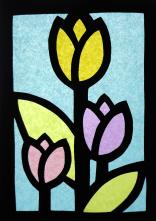 Vetrate_Carta_velina_LIM_tulipani