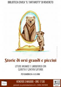 Lettura animata storie di orsi