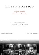 Ritiro Poetico a Verbania – Lago Maggiore