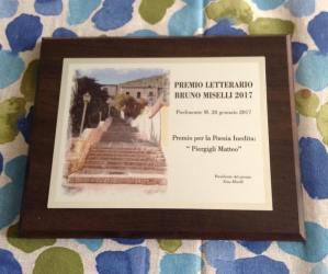 Matteo Piergigli al Premio Bruno Miselli 2017