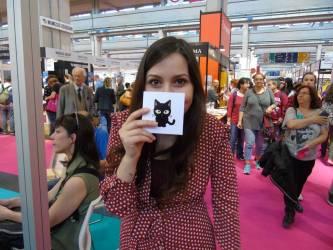 """La """"gatta"""" al Salone del Libro di Torino 2017"""
