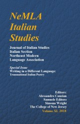 Nemla Italian Studies – Volume XL 2018