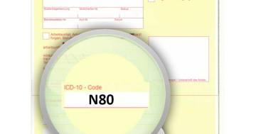 ICD-10 Diagnoseschlüssel N80