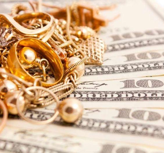 scrap gold and cash money