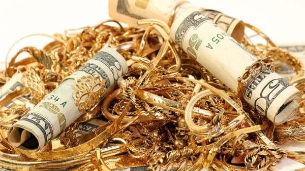 scrap gold and cash