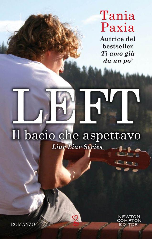 Left. Il bacio che aspettavo Book Cover