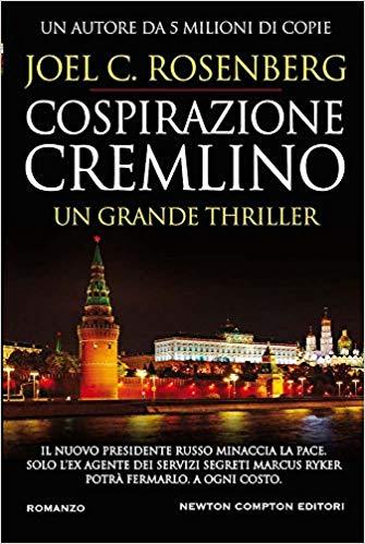 COSPIRAZIONE CREMLINO Book Cover