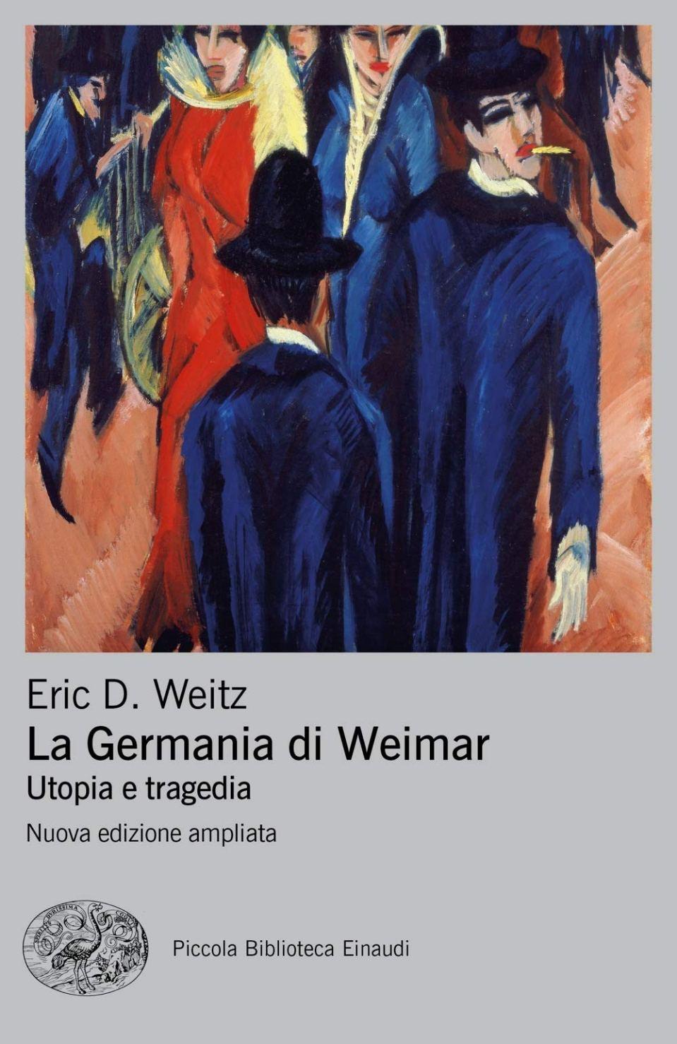 LA GERMANIA DI WEIMAR Book Cover