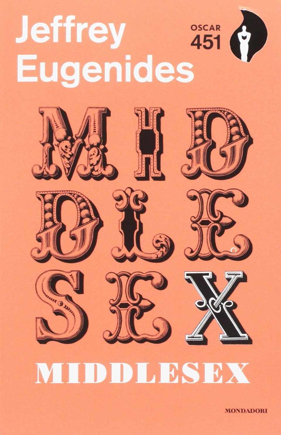 MIDDLESEX Book Cover