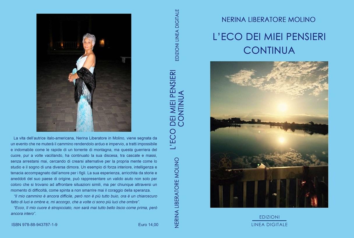 L'eco dei miei pensieri continua Book Cover