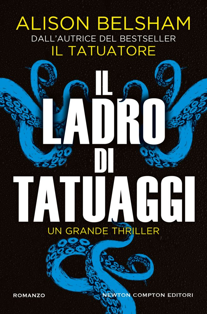 Il ladro di tatuaggi Book Cover