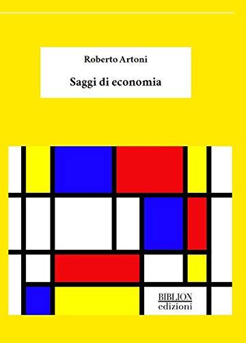 Saggi di Economia Book Cover