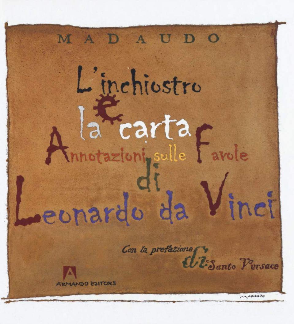 L'inchiostro e la carta. Annotazioni sulle favole di Leonardo da Vinci. Book Cover