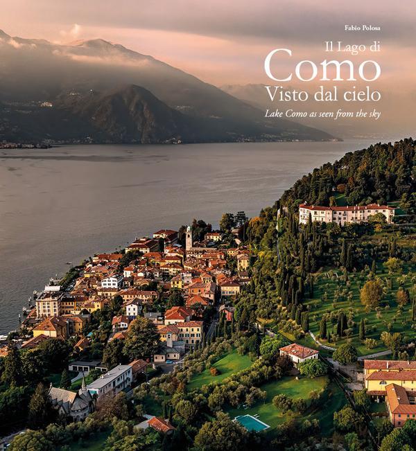 Il lago di Como visto dal cielo (ediz. italiana e inglese) Book Cover
