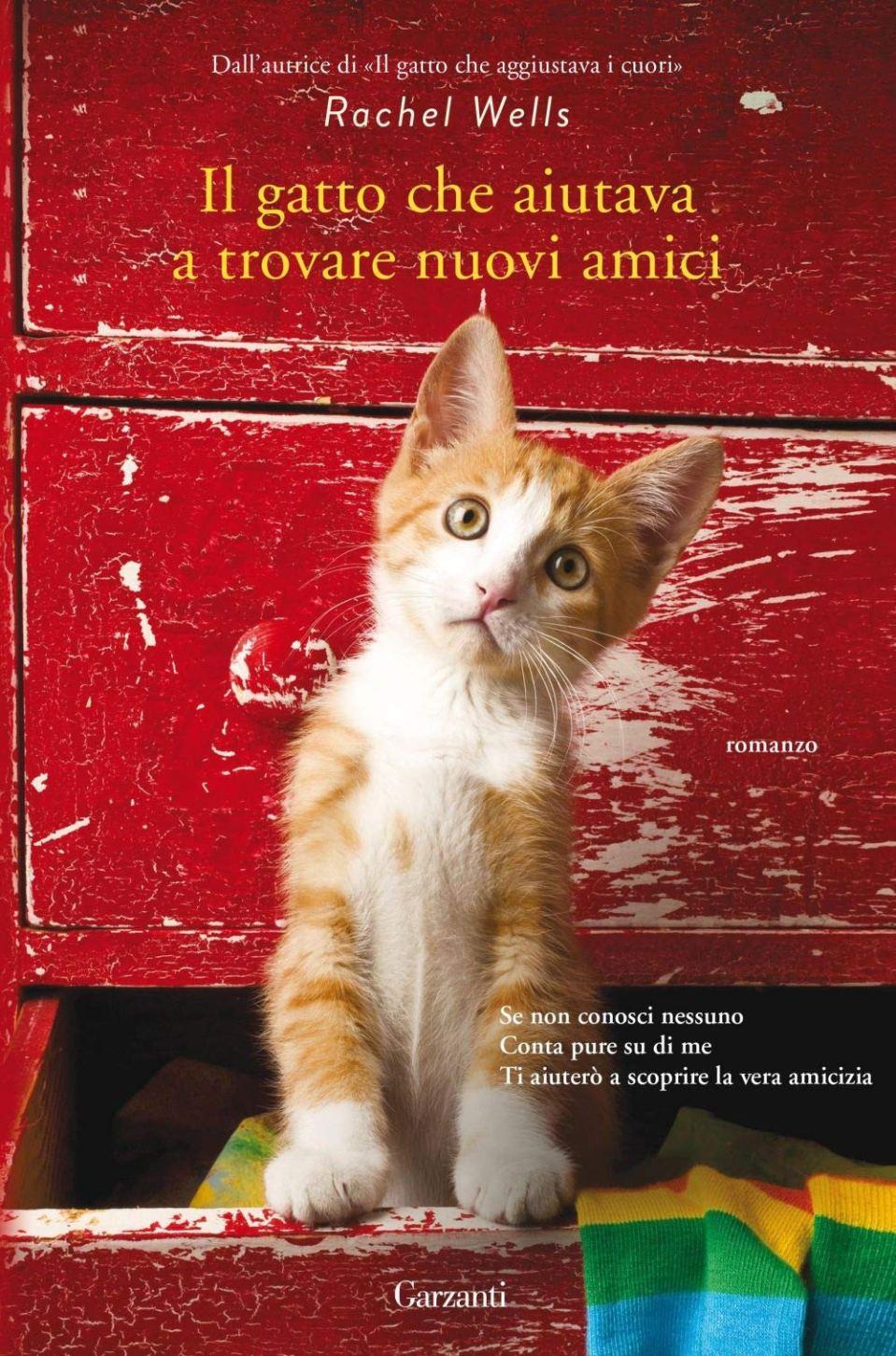 Il gatto che aiutava a trovare nuovi amici Book Cover