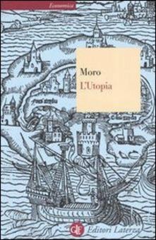 L'Utopia o la migliore forma di Repubblica Book Cover