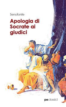 Apologia di Socrate ai giudici Book Cover