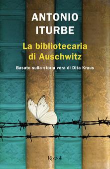 La bibliotecaria di Auschwitz Book Cover