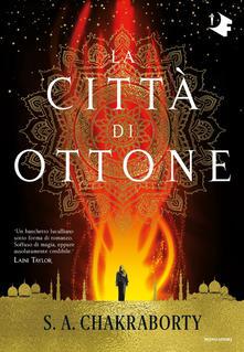 La città di ottone Book Cover